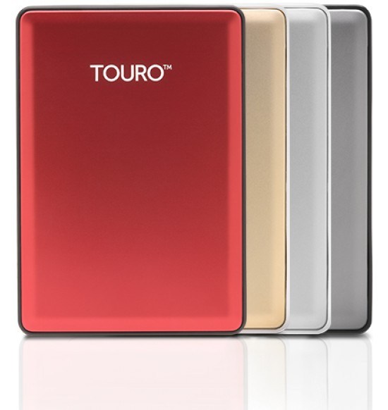 External Harddisk Hitachi Touro S 500GB - USB 3.0